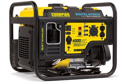 Portable Generator with Quiet Technology