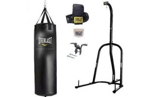 Everlast Single Station Heavy Bag Stand with a 70-lb. Heavy Bag