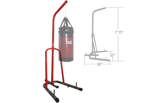 Standing Station Steel Boxing MMA Heavy Bag Stand