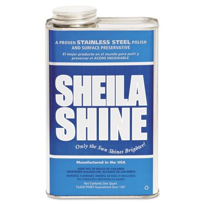 Check out  Best Stainless Steel Cleaners in 2018 Reviews10 Sheila Shine Stainless Steel Cleaner Polish