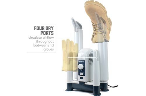 MaxxDry Heavy Duty Boot Dryer, Shoe Dryer, and Glove Dryer