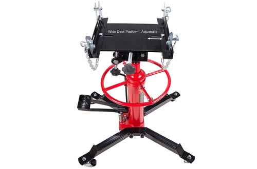 Hydraulic Transmission jack Lift Hoist with Strong Casters