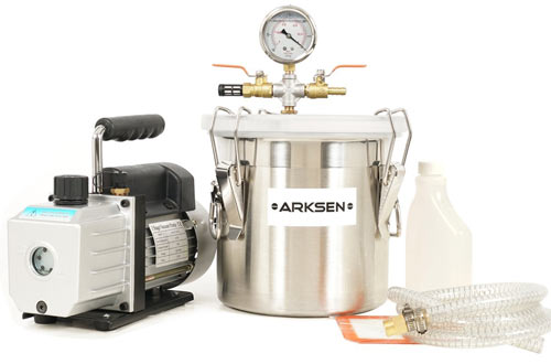 ARKSEN Vacuum Chamber (2 Gallon) Silicone Expoxy Degassing