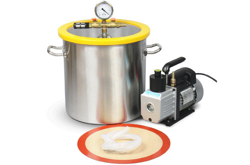 Hydrion Scientific 5 Gallon Vacuum Degassing Chamber Kit