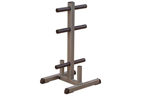 Body Solid GOWT Olympic Plate Tree Bar Holder