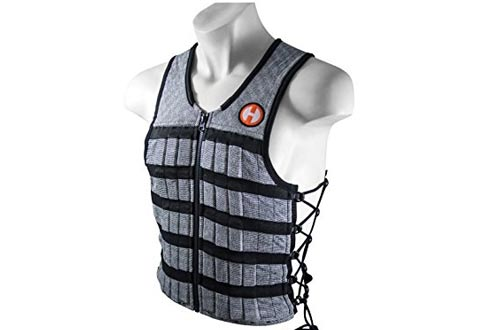 Adjustable Weighted Vest for Fitness Workouts
