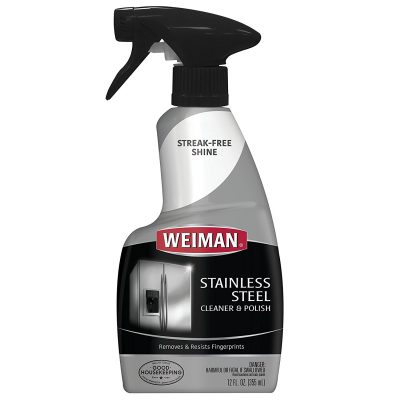 Weiman Stainless Steel Cleaner Polish 12 fl oz