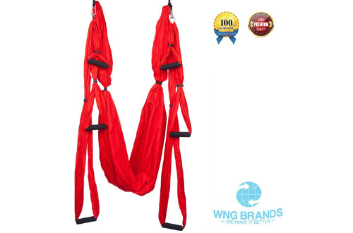Yoga Swing By WNG Brands Aerial Yoga Swing Inversion Sling Anti gravity Yoga Hammock