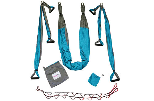 Gym Strength Antigravity Yoga Hammock - Inversion Trapeze Sling Equipment