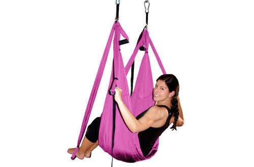 Deluxe Aerial Hammock Yoga Swing/ Inversion/Sling, Flying Antigravity