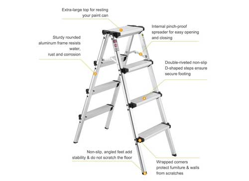 Top 5 Best Step Ladders Extension Ladder Reviews In 2019
