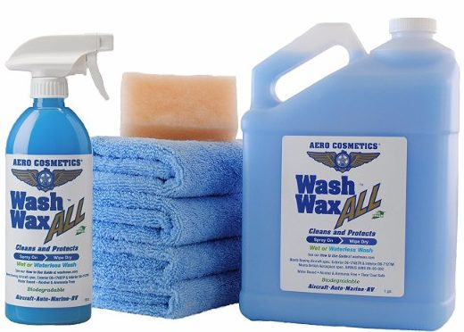 #1 Waterless Car Wash Wax Kit 144 oz. Aircraft Quality
