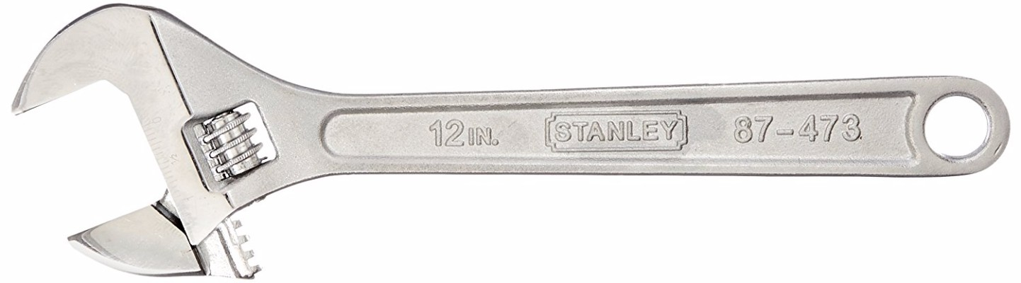 #2 Stanley 87-473 12-Inch Adjustable Wrench
