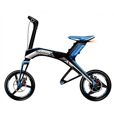 3. Robstep X1 Electric Folding Scooter