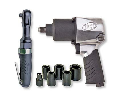 5. Ingersoll Rand 2317G Edge Air Impact and Ratchet Kit