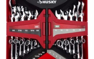 #7 Husky 28-Piece SAE and Metric Combination Wrench Set