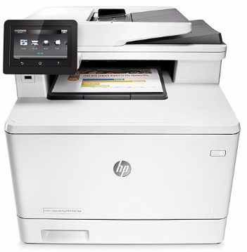 #8 HP Laserjet Pro M477fdn All-in-One Color Printer
