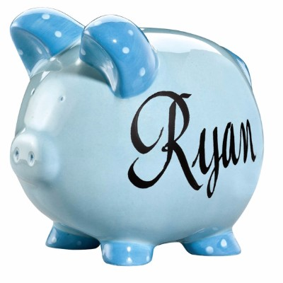 #8 Miles Kimball Personalized Kids Piggy Bank