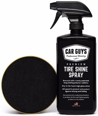 #9 Tire Shine Spray - Best Tire Dressing Car Care Kit
