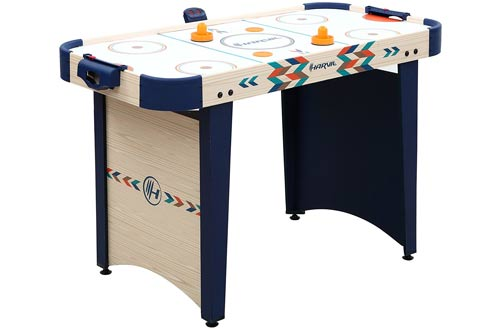 Harvil 4 Foot Air Hockey Game Table for Kids and Adults
