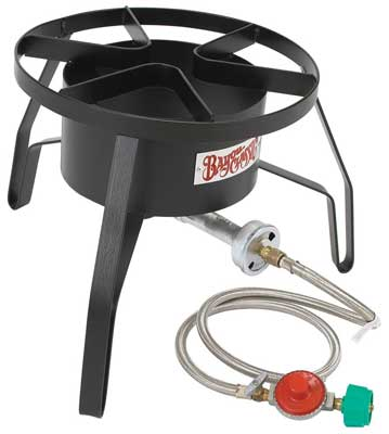 9. Bayou Classic High-Pressure Propane Outdoor Cooker