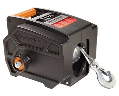 8. Master Lock 2953AT 12-Volt DC Portable Winch