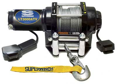 9. Superwinch 1130220 LT3000ATV Trailer Winch Electric