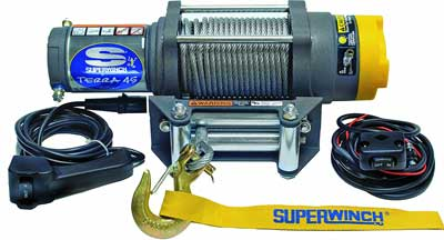 Best Electric Trailer Winches -Superwinch 1145220 Terra 45 ATV & Utility Winch