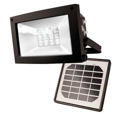 8. Maxsa 10-hour Solar Powered Flood Light