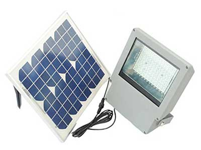 1. Solar Goes Green Super Bright Solar Flood Light