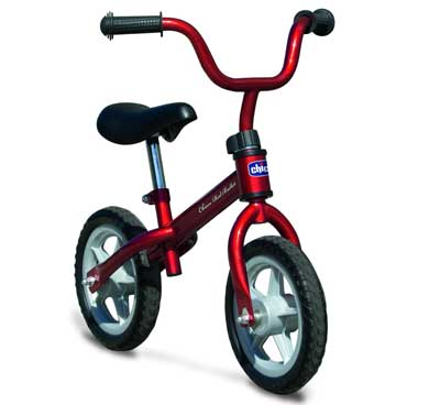 2. Chicco Red Bullet Balance Training Bike