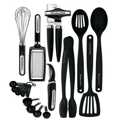 8. KitchenAid 17-Piece Tools and Gadget Set