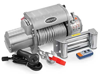 4. LD12-ELITE Electric Heavy Duty Recovery Winch