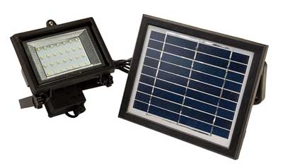 2. Reusable Revolution 28 LED Solar Powered Flood Light