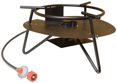 1. Metal Fusion Outdoor Double-Propane Cooker