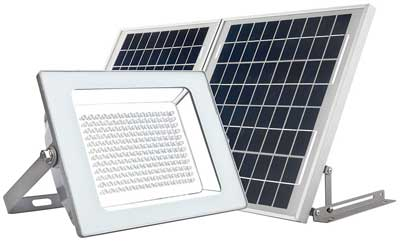 4. MicroSolar Super Bright!!! Solar Flood Light