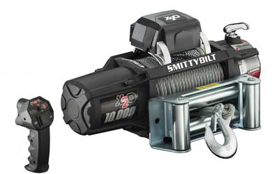 6. Smittybilt (97510) X2O Waterproof Winch