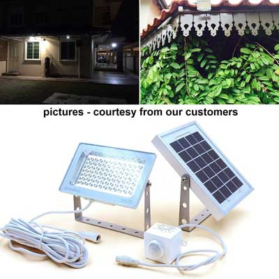 3. Guardian 580X Solar Flood Light