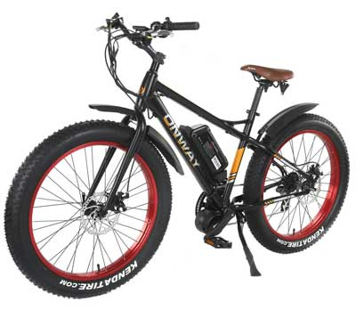 4. Onway Fat Tire Electric Bike