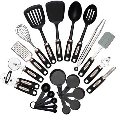 1. Lucentee 22-Piece Kitchen Utensil Set