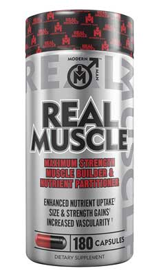 5. Real Muscle Muscle Building Testosterone Booster