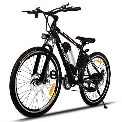 Best Electric Bikes - Ancheer Power Plus Electric Mountain Bike