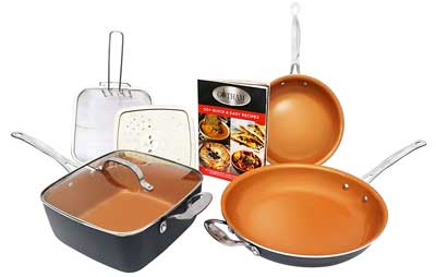 4. Gotham Steel Tastic Cookware Set