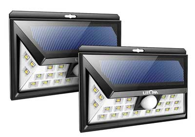 6. Litom 24 LED Solar Flood Light
