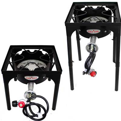 Best Outdoor Cookers - Gas One Portable Propane Outdoor Burner
