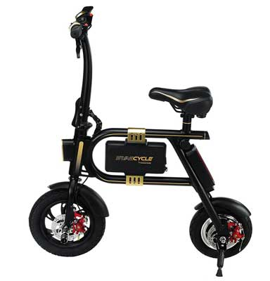 7. SWAGTRON SwagCycle Folding Electric Bicycle