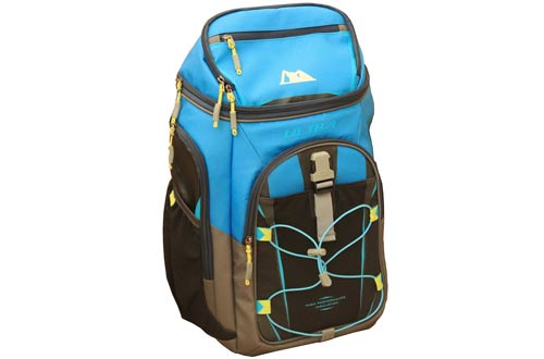 Arctic Zone Ultra 24 Can 10 Storage Ares Backpack Cooler