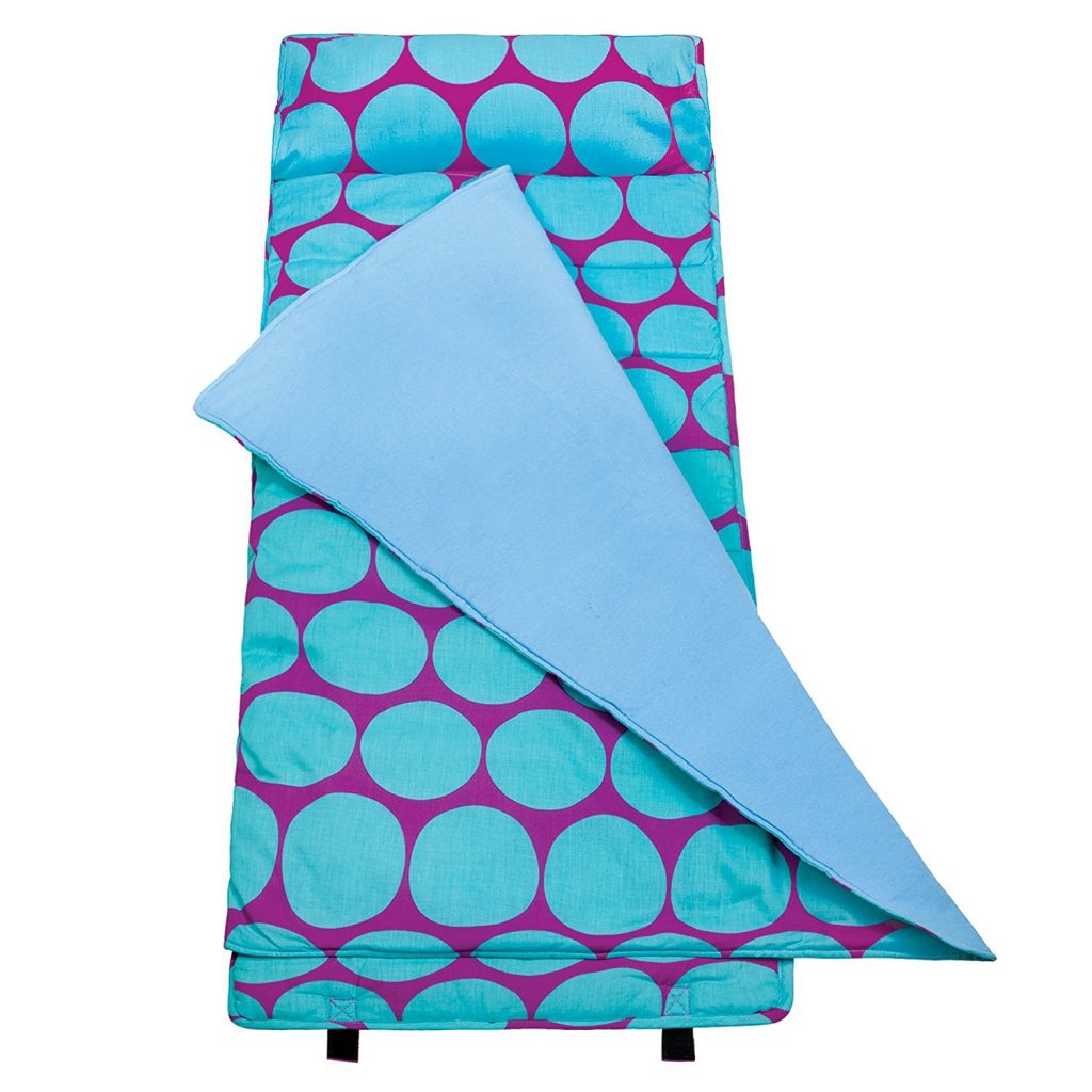 Big Dots Aqua Original Nap Mat