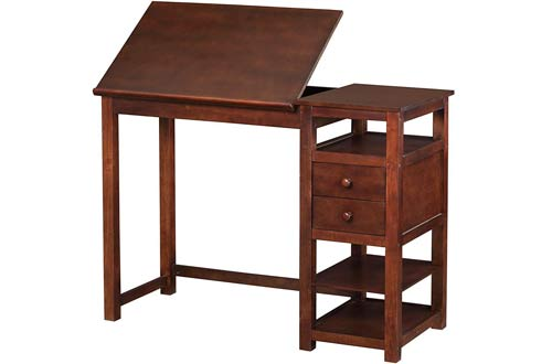Dorel Living Drafting and Craft Counter Height Desk