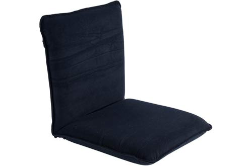 Sundale Outdoor Indoor Adjustable Navy Blue Floor Chair